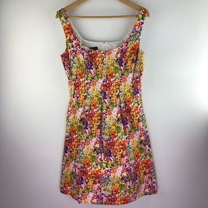 Nine West Floral Sleeveless Dress with Pockets